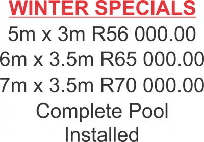Ashleys Winter Specials